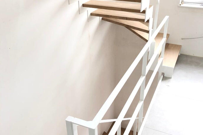 Garde corps en plat étage et escalier