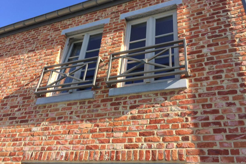Garde corps protection de fenêtre 3