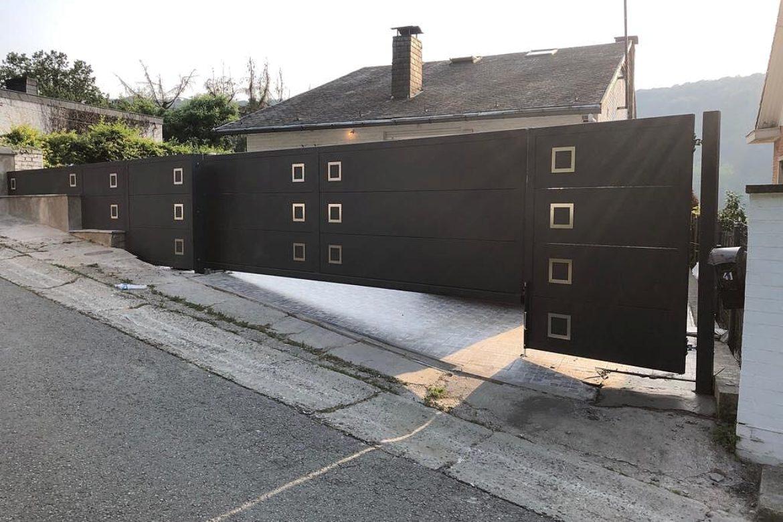 Portail moderne 10