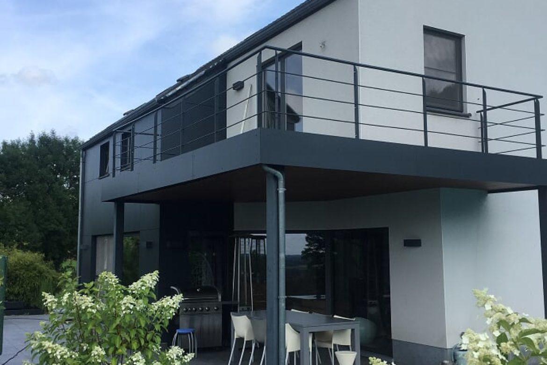 Terrasse métallisé 2