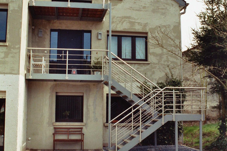 Terrasses et escalier 1